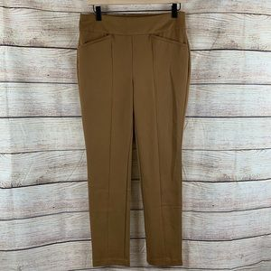 Chico's So Slimming Brown Work Pant Size 0
